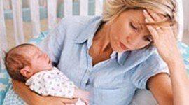 Depresión madre   después del parto