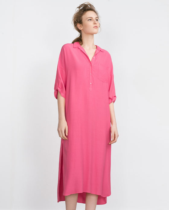 zara-novedades-2016-moda-embarazadas-vestido-tunica